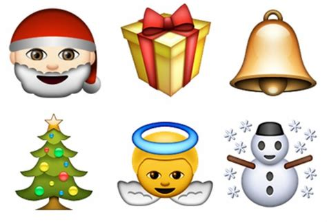 Images Of Christmas Emojis | are christmas cards being replaced by emoji texts bt