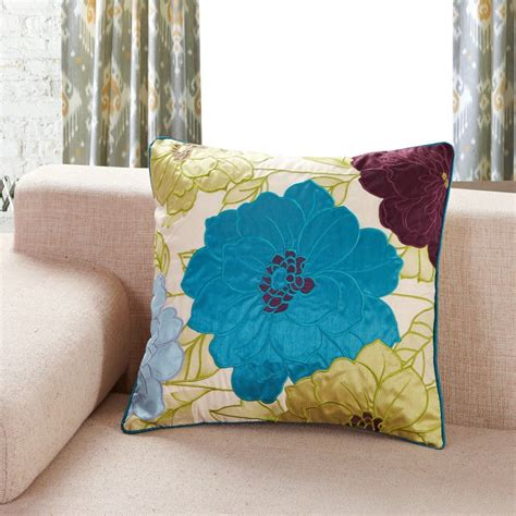 Lights For Home Decoration Yellow And Turquoise Throw Pillows Savary Homes