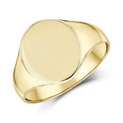 mens rings uk 9ct yellow gold s oval shape light weight signet ring mens signet rings at elma uk jewellery