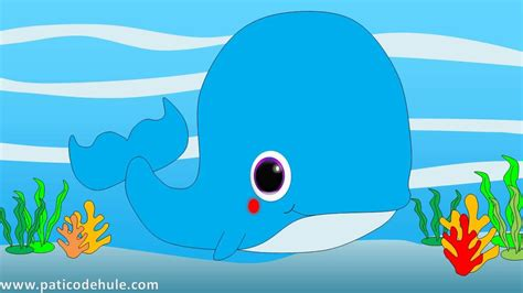 ballenas animadas animales marinos para ni 241 os ballena la ballena para