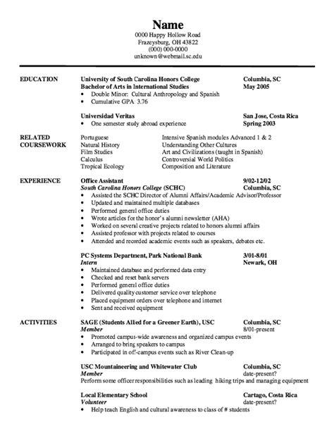 international affairs resume resume ideas