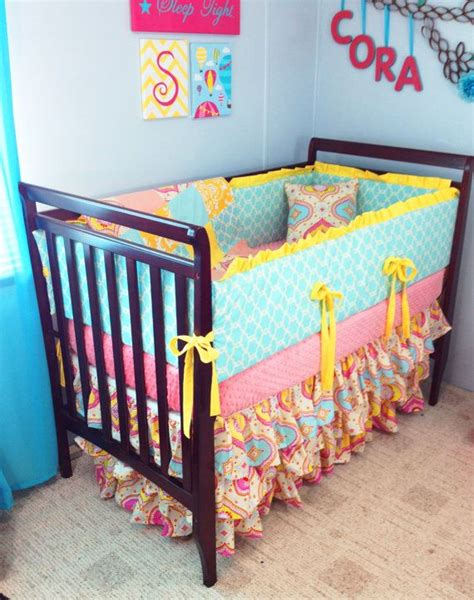 Blue And Yellow Crib Bedding 11 Best Images About Ashtynn S Room On Chevron Crib Bedding Shabby Chic Decor And