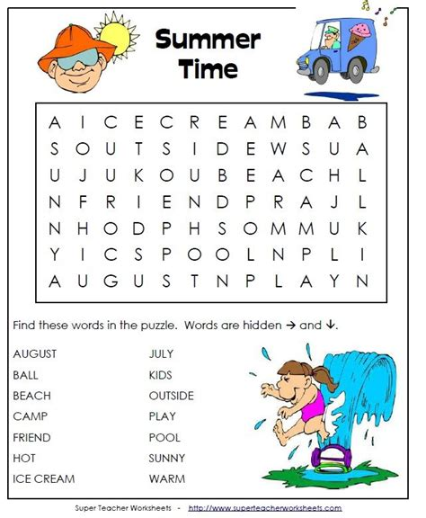 Summer Alphabet Worksheets Lessons For 1000 Images About Summer Vacation On The