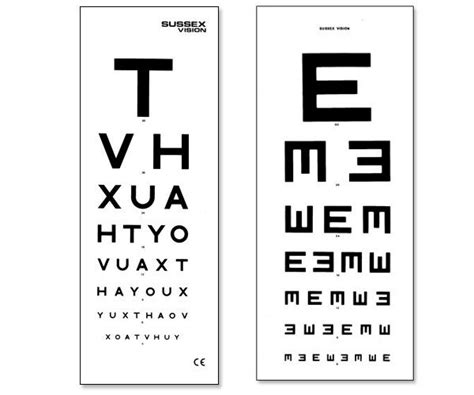 printable eye chart with instructions snellen chart results uk snellen eye test charts