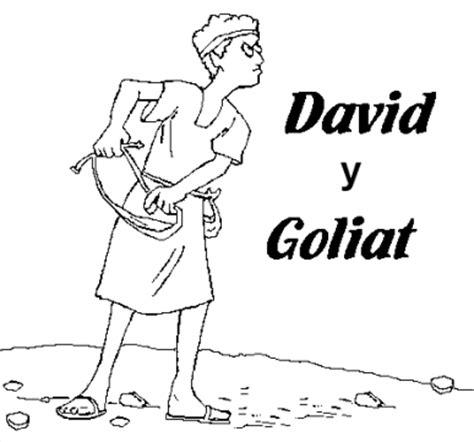 imagenes biblicas de david y goliat dibujos de david y goliat para colorear dibujos