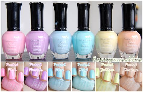 kleancolor pastels cover honeymunchkin