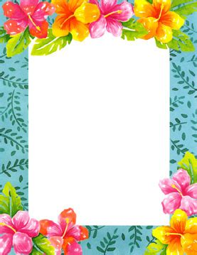 free printable hawaiian flowers free printable japanese floral art hawaiian themed laser