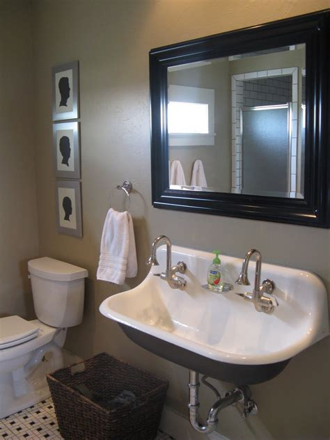 farmhouse bathroom sinks boy s bath