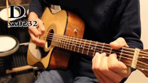 guitar tutorial cover times like these foo fighters acoustic guitar tutorial