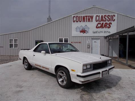 chevrolet el camino for sale 1982 chevrolet el camino for sale 1930248 hemmings
