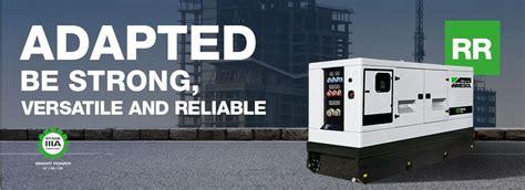 generator sets rental range inmesol