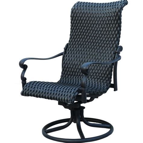 High Back Swivel Patio Chairs High Back Swivel Rocker Patio Chairs Images 01 Chair Design