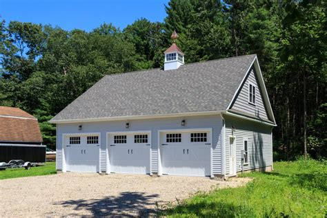 3 car garage 34 x 38 newport 3 car garage the barn yard great country garages