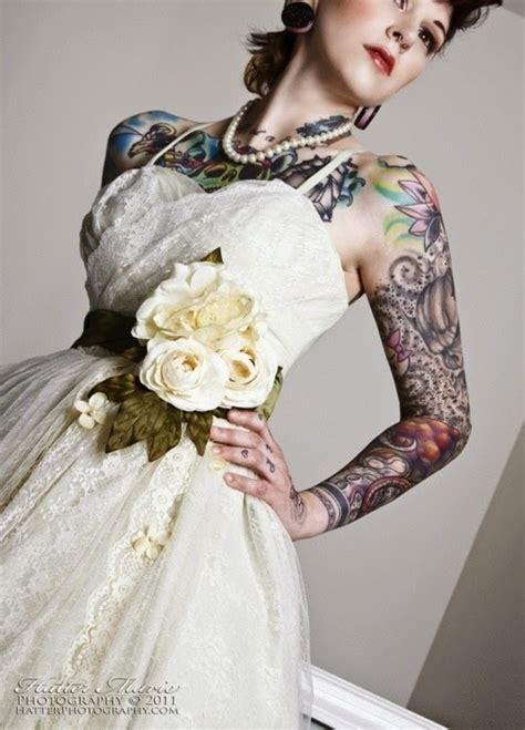 tattooed brides taliladesign on ezebee