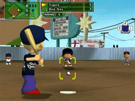 backyard baseball play backyard baseball 2005 lets play vs tigers youtube