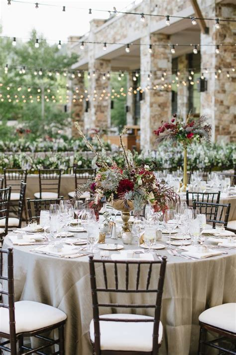 Gold and Burgundy Reception   Reception   Pinterest