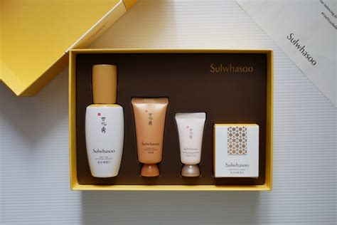 Sulwhasoo Set Promo review sulwhasoo care activating serum exbeauty journal