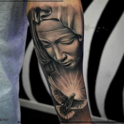 tattoo design mama mary 80 ways to express your faith with a religious tattoo