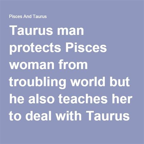 25 best ideas about pisces and taurus on pinterest