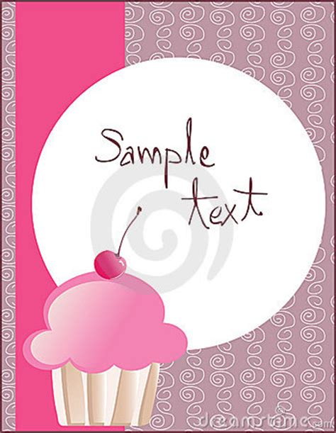 cupcake flyer templates free flyer pink cake ideas and designs