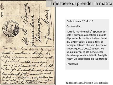 lettere di emigranti italiani parole in trincea la memoria della grande guerra nelle