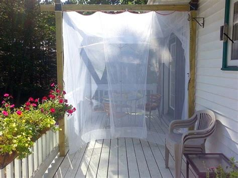 Patio Netting 17 Best Images About Mosquito Netting Covers On