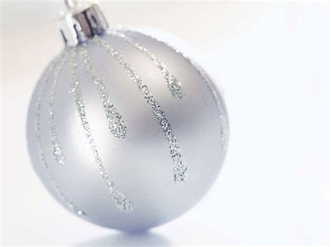 white glass christmas balls merry christmas