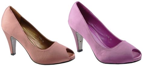 lilac shoes new womens bronze lilac court shoes wedding pumps prom