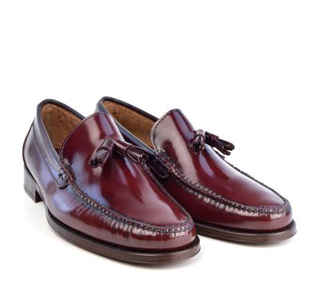 oxblood tassel loafers tassel loafers in oxblood the mod shoes