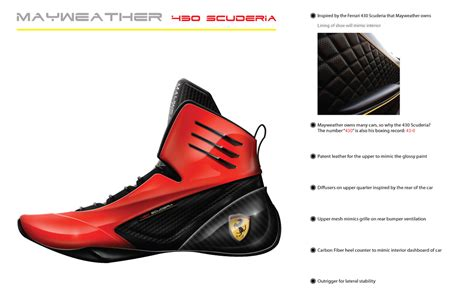 mayweather shoe collection floyd mayweather scuderia on behance