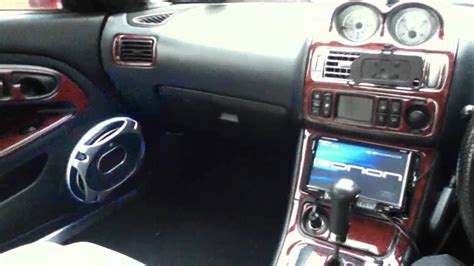 mitsubishi fto interior mitsubishi fto custom interior youtube