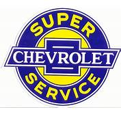 Chevrolet Specialty Decals  Service Genuine
