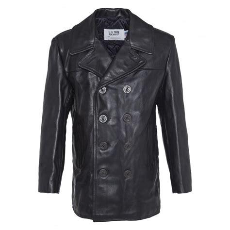 chaquetones de cuero u s 740n pea jacket chaquet 243 n marinero cuero u s 740n