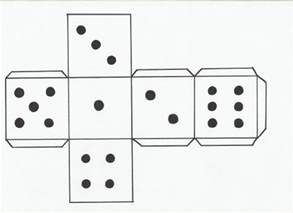 paper dice template how to make a dice