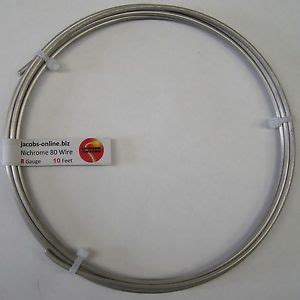 Anarchist Competition Wire Nichrome 80 Ni 80 Ni80 Kawat Coil Vape Nichrome 80 Resistance Wire 8 Awg 10 Ebay