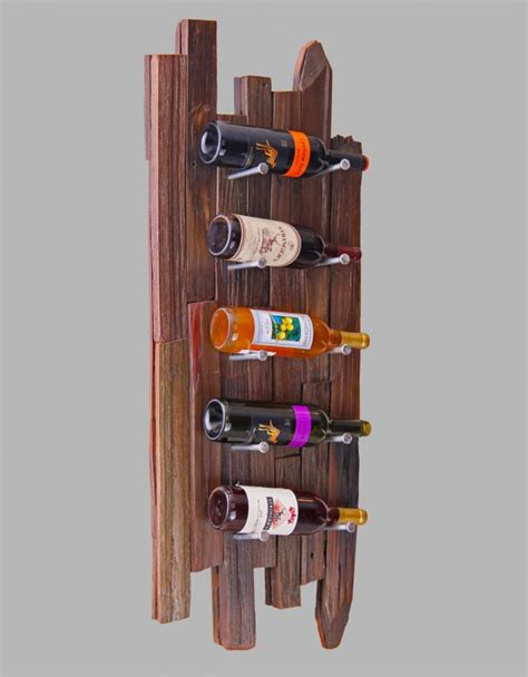 Handmade Wooden Wine Racks - 10 diy unique and wine rack designs