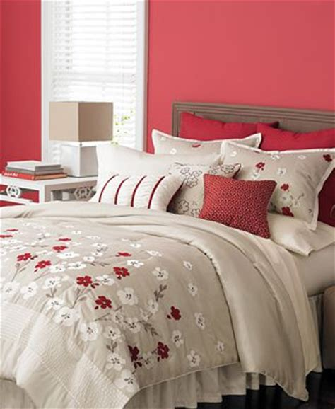 martha stewart bedroom martha stewart collection bedding cherry lane 9 piece