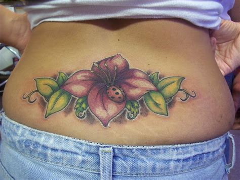 flower lower back tattoo designs lower back tattoos my tattoos zone