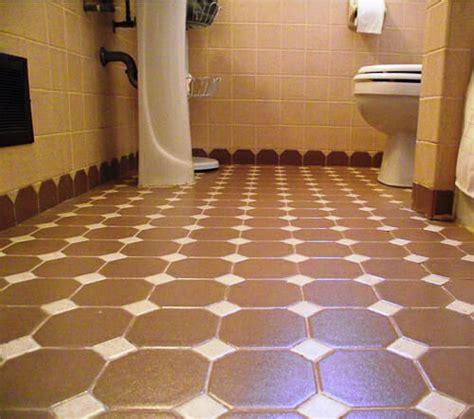 octagon bathroom tile octagon and dot tile creates scalloped edges a terrific