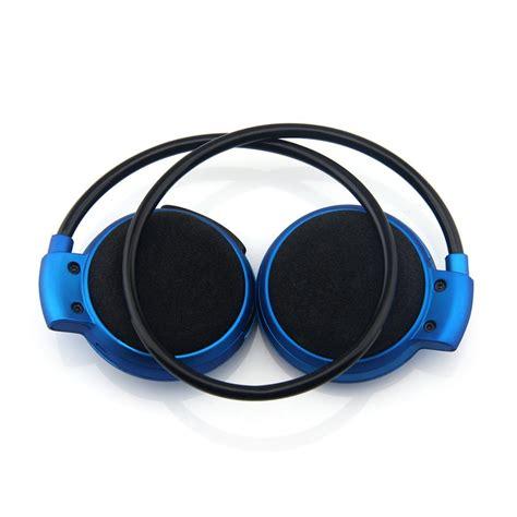 Headphone Wireless Bluetooth Mic Mini 503 sport wireless bluetooth headphone dengan mic mini503 blue jakartanotebook