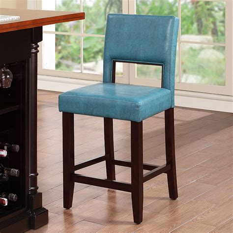 Teal Leather Counter Stool by Stools Design Amazing Teal Counter Stools Swivel Counter