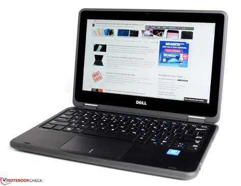 test dell test dell latitude 3189 convertible notebookcheck tests