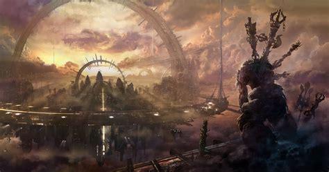 sci fi fantasy art sci fi fantasy art artwork science fiction futuristic original adventure fantasy wallpaper