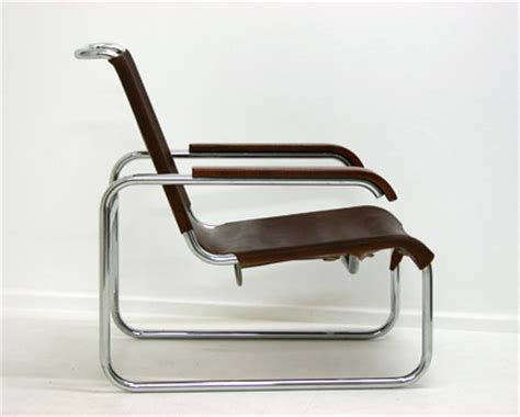 Bauhaus Design Len by B35 Stoel Marcel Breuer Designstoelen Org