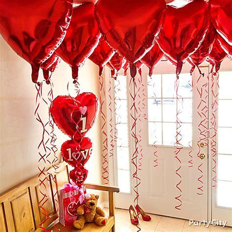 valentines surprises valentines day balloon canopy idea valentines