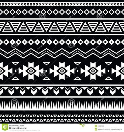 tribal pattern black and white wallpaper aztec seamless pattern tribal black and white background