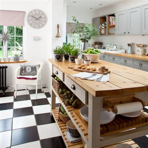 b q kitchen islands makeover grey country kitchen housetohome co uk