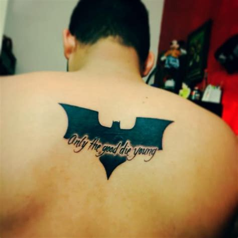 batman and joker tattoo 100 best batman symbol ideas comic 2018
