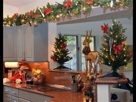 como decorar un comedor de navidad como decorar una cocina en navidad youtube