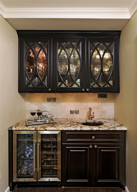 bar cabinet with refrigerator butler pantry kitchen hall family room great room